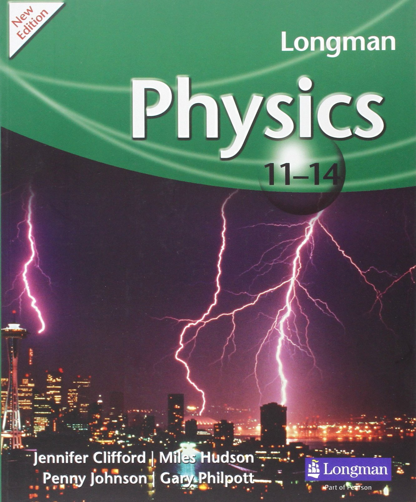 Longman 11-14 Physics Book by Miles Hudson cover