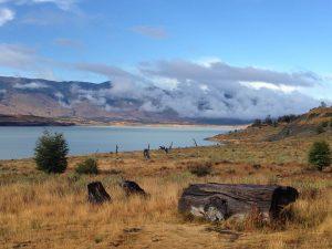 Photo by the lake Laguna Americana in El Calafate, Argentina
