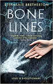 Cover image for Stephanie Bretherton's novel, Bone Lines.