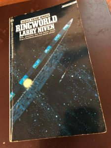 Photo of the paperback Ringworld by Larry Niven