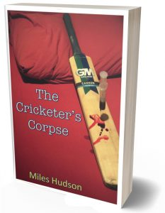 Cover images of The Cricketer's Corpse paperback