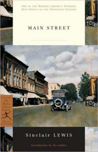 Cover image of Main Street by Sinclair Lewis