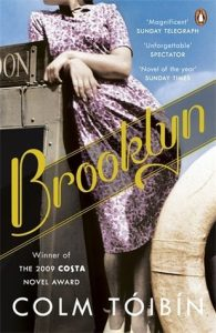 Cover image of Brooklyn by Colm Toibin