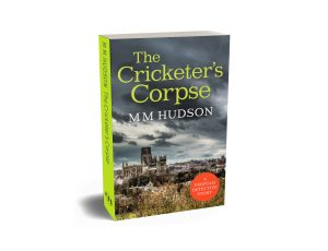 Cover image for The Cricketer's Corpse by Miles Hudson shown on paperback