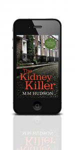 The Kidney Killer ebook on a phone. Click to get kindle version.