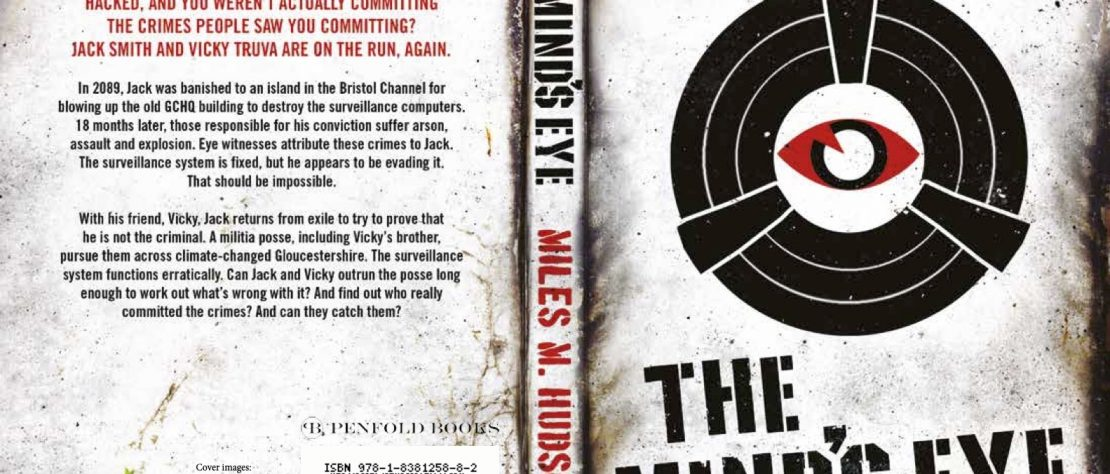 Paperback cover for The Mind's Eye by Miles M Hudson